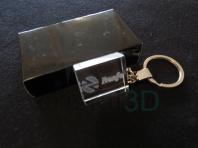 Llavero cristal: 30x24x10mm Logo Renfe 10