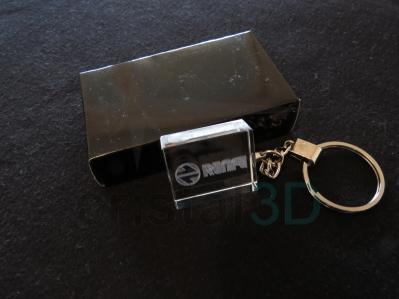 Llavero cristal: 30x24x10mm Logo Renfe 7
