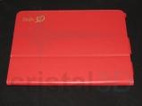 Grabado láser personalizado sobre funda de piel de tablet, también sobre otros materiales. #Delin3D
