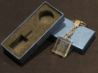 Modelo05 Llavero 30x24x10mm personalizado. Diseño grabable en cualquiera de nuestras piezas de catalogo. Model05 Keyring 30x24x10mm personalized. Design engraved in any of our pieces of catalogue.