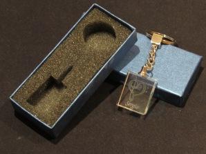 Modelo10 Llavero 30x24x10mm personalizado. Diseño grabable en cualquiera de nuestras piezas de catalogo. Model10 Keyring 30x24x10mm personalized. Design engraved in any of our pieces of catalogue.