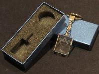 Modelo04 Llavero 30x24x10mm personalizado. Diseño grabable en cualquiera de nuestras piezas de catalogo. Model04 Keyring 30x24x10mm personalized. Design engraved in any of our pieces of catalogue.
