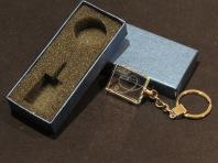 Modelo03 Llavero 30x24x10mm personalizado. Diseño grabable en cualquiera de nuestras piezas de catalogo. Model03 Keyring 30x24x10mm personalized. Design engraved in any of our pieces of catalogue.