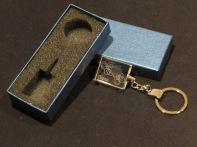Modelo07 Llavero 30x24x10mm personalizado. Diseño grabable en cualquiera de nuestras piezas de catalogo. Model07 Keyring 30x24x10mm personalized. Design engraved in any of our pieces of catalogue.