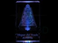 Personalización prisma 50x50x80 en 3D. #VirgendelRocío Almonte Customization prism 50x50x80 in 3D #VirgendelRocío Almonte
