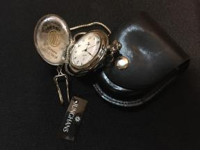 Personalización reloj de bolsillo para jubilación.