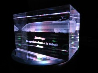 Prisma personalizado 60x60x100mm